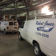Robert Jones Plumbing Vans US Bank Arena