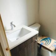 New Bathroom Sink Vanity and Toilet Install